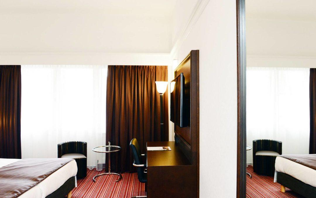 Pleijsier Hotelrenovatie levert 15 hotelkamers Amrâth Hotel DuCasque Maastricht op